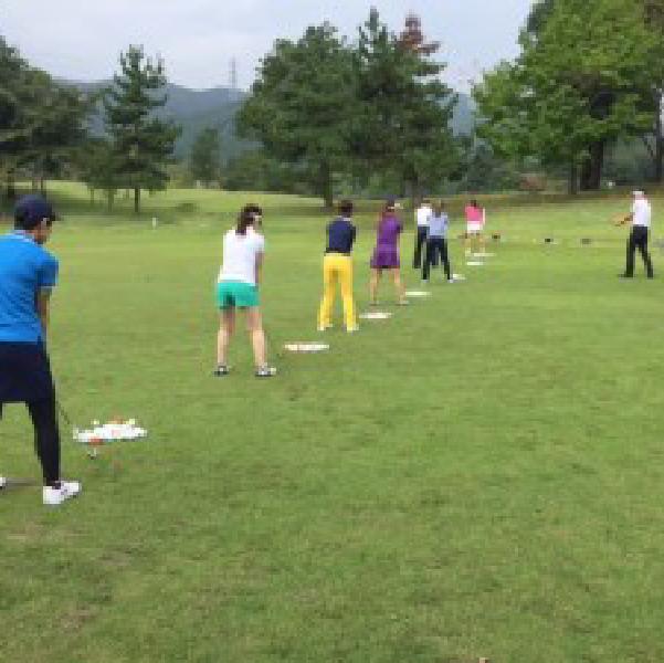 本当に初心者でも参加できるゴルフ場のコースレッスンに行けるのがすごい!